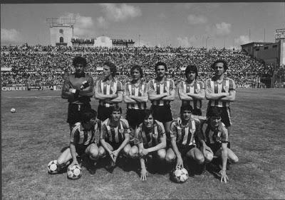 Resultado de imagen de fotos del athletic en el estadio insular en 1983