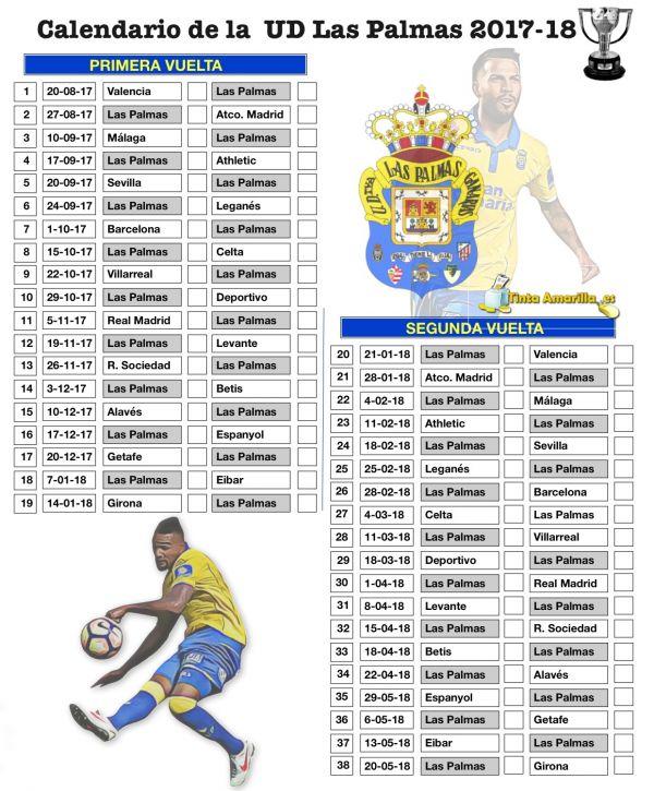 Calendario Ud Las Palmas.Valencia Ud Otra Vez La Apertura